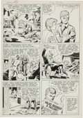 Original Comic Art:Panel Pages, Jack Kirby and Joe Simon Adventures of the Fly #1 Page 15Original Art (Archie, 1959)....