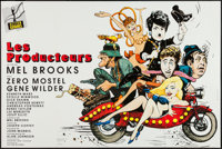 """The Producers (Action Gitanes, R-1994). French Affiche (32.5"""" X 47""""). Comedy"""