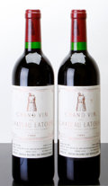 Red Bordeaux, Chateau Latour 1993 . Pauillac. 2lbsl, 1lscl, 1lnl. Bottle(2). ... (Total: 2 Btls. )