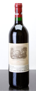 Red Bordeaux, Chateau Lafite Rothschild 1990 . Pauillac. Bottle (1). ...(Total: 1 Btl. )