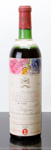 Red Bordeaux, Chateau Mouton Rothschild 1970 . Pauillac. ms, bsl, lnl,lcc, ssos. Bottle (1). ... (Total: 1 Btl. )