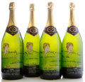 "Domestic Misc. White, Mumm Napa Vintage Sparkling Wine 1983 . Blanc de Blancs.4-2003 Napa Valley Auction ""Copa de Napa"". Magnum (4). ... (Total:4 Mags. )"
