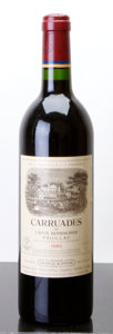 Red Bordeaux, Carruades de Lafite 1985 . Pauillac. Bottle (1). ... (Total:1 Btl. )