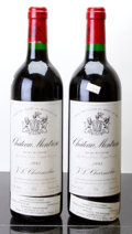 Red Bordeaux, Chateau Montrose 1995 . St. Estephe. 1lbsl, 2lscl, 1wrl.Bottle (2). ... (Total: 2 Btls. )