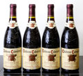 Rhone, Chateauneuf du Pape 1989 . Chateau Cabrieres . 3lbsl, 1bsl, 2lscl. Bottle (4). ... (Total: 4 Btls. )
