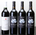 Domestic Cabernet Sauvignon/Meritage, Chappellet Cabernet Sauvignon . 2002 Signature lbsl Bottle(1). Lail Vineyards Red . 2004 Blueprint Bott... (Total: 4Btls. )