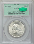Commemorative Silver: , 1936 50C Albany MS64 PCGS. CAC. PCGS Population (1628/2324). NGCCensus: (825/1809). Mintage: 17,671. Numismedia Wsl. Price...