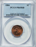Proof Indian Cents: , 1884 1C PR65 Red and Brown PCGS. PCGS Population (110/61). NGCCensus: (92/66). Mintage: 3,942. Numismedia Wsl. Price for p...
