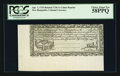 Colonial Notes:New Hampshire, Cohen Reprint New Hampshire April 3, 1755 Redated June 1, 1756 1sPCGS Choice About New 58PPQ.. ...