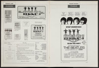 "Help! (United Artists, 1965). Pressbook (Multiple Pages) (13.25"" X 18""). Rock and Roll"