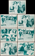 "Movie Posters:Comedy, Kind Hearts and Coronets (Continental, 1950). Lobby Cards (7) (11"" X 14""). Comedy.. ... (Total: 7 Items)"