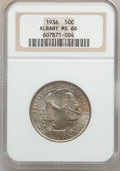 Commemorative Silver: , 1936 50C Albany MS66 NGC. NGC Census: (512/142). PCGS Population(769/108). Mintage: 17,671. Numismedia Wsl. Price for prob...