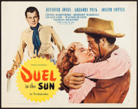 """Duel in the Sun (United Artists, 1947). Half Sheet (22"""" X 28"""") Style B. Western"""