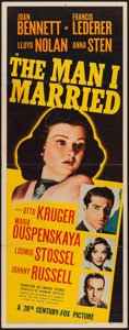 "Movie Posters:War, The Man I Married (20th Century Fox, 1940). Insert (14"" X 36""). War.. ..."