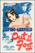 """Movie Posters:Crime, Out of the Fog (Warner Brothers, 1941). One Sheet (27"""" X 41"""").Crime.. ..."""