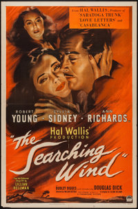 """The Searching Wind (Paramount, 1946). One Sheet (27"""" X 41""""). Drama"""
