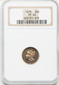 Proof Three Cent Nickels: , 1879 3CN PR65 NGC. NGC Census: (305/241). PCGS Population(294/224). Mintage: 3,200. Numismedia Wsl. Price for problemfree...