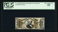Fractional Currency:Third Issue, Fr. 1324SP 50¢ Third Issue Spinner Narrow Margin Face PCGS Choice About New 55.. ...