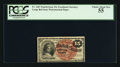 Fractional Currency:Fourth Issue, Fr. 1267 15¢ Fourth Issue PCGS Choice About New 55.. ...