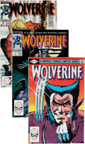 Modern Age (1980-Present):Superhero, Wolverine Group (Marvel, 1982-93) Condition: Average VF.... (Total:43 Comic Books)