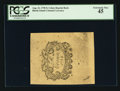 Colonial Notes:Rhode Island, Cohen Reprint Back Rhode Island August 22, 1738 5s PCGS ExtremelyFine 45.. ...