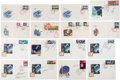 Explorers:Space Exploration, Voshkod 1 & 2 and Soyuz 3-19: Set of Sixteen Kniga Signed Covers, with COAs.... (Total: 16 Items)
