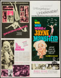 """Movie Posters:Sexploitation, The Wild, Wild World of Jayne Mansfield (Southeastern PicturesCorporation, 1968). Uncut Pressbook (4 Pages, 14"""" X 18""""). Sex..."""