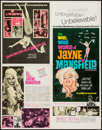 """The Wild, Wild World of Jayne Mansfield (Southeastern Pictures Corporation, 1968). Uncut Pressbook (4 Pages, 14"""" X..."""