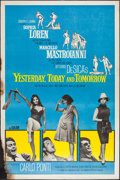 "Movie Posters:Comedy, Yesterday, Today and Tomorrow (Embassy, 1964). Poster (40"" X 60""). Comedy.. ..."
