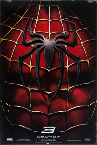 "Spider-Man 3 (Columbia, 2007). Lenticular One Sheet (27"" X 40"") Advance Style. Action"