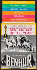 """Movie Posters:Academy Award Winners, Ben-Hur (MGM, 1960). Uncut Pressbook (Multiple Pages, Six Sections, 14"""" X 17"""" - 14' -19"""") Academy Award Continuing Release C..."""