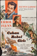 "Movie Posters:Adventure, Cuban Rebel Girls (Joseph Brenner Associates, 1959). Trimmed 40"" X60"" Poster (37"" X 57""). Adventure.. ..."