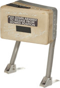 Explorers:Space Exploration, Apollo 17 Lunar Module Flown Commander's Armrest Originally Fromthe Personal Collection of Mission Commander Gene Cernan, Sig...