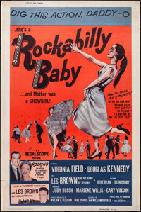 "Rockabilly Baby (20th Century Fox, 1957). Poster (40"" X 60""). Rock and Roll"