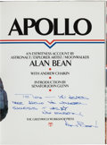 """Autographs:Celebrities, Alan Bean: Apollo Signed Book Directly from the PersonalCollection of Astronaut """"Den Mother"""" Lola Morrow...."""