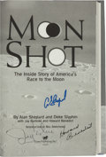 "Autographs:Celebrities, Alan Shepard, et al: Moon Shot Signed Book Directly from thePersonal Collection of Astronaut ""Den Mother"" Lola Mo..."