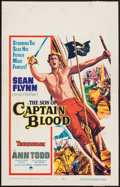 """Movie Posters:Swashbuckler, The Son of Captain Blood (Paramount, 1963). Window Card (14"""" X 22""""). Swashbuckler.. ..."""