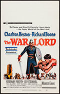 "Movie Posters:War, The War Lord (Universal, 1965). Window Card (14"" X 22""). War.. ..."