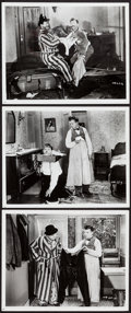 """Movie Posters:Comedy, Laurel and Hardy in Helpmates (MGM). Reprint Photos (3) (8"""" X 10""""). Comedy.. ... (Total: 3 Items)"""