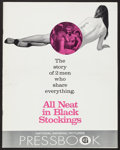 "Movie Posters:Comedy, All Neat in Black Stockings (National General, 1969). Uncut Pressbook (Multiple Pages, 11"" X 14""). Comedy.. ..."