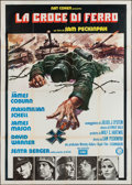 "Movie Posters:War, Cross of Iron (Gold Films, 1977). Italian 4 - Foglio (55"" X 78"").War.. ..."