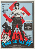 "Movie Posters:Exploitation, Ilsa, She Wolf of the SS (Cambist Films, 1975). Spanish One Sheet (27.5"" X 39""). Exploitation.. ..."