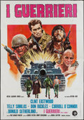 "Movie Posters:War, Kelly's Heroes (MGM, 1970). Italian 4 - Foglio (55"" X 78""). War.. ..."