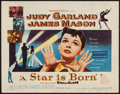 """Movie Posters:Musical, A Star is Born (Warner Brothers, 1954). Half Sheet (22"""" X 28""""). Musical.. ..."""