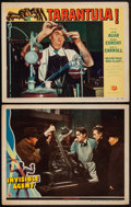 """Movie Posters:War, Invisible Agent & Other Lot (Universal, 1942). Lobby Cards (2) (11"""" X 14""""). War.. ... (Total: 2 Items)"""