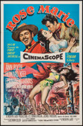 """Movie Posters:Musical, Rose Marie (MGM, 1954). One Sheet (27"""" X 41""""), Lobby Cards (5) (11""""X 14""""), and Uncut Pressbook (Multiple Pages, 12.25' X 17... (Total:7 Items)"""