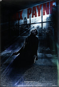 """Max Payne (20th Century Fox, 2008). Lenticular One Sheet (27"""" X 40"""") Advance Style. Action"""