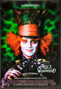 "Movie Posters:Fantasy, Alice in Wonderland (Walt Disney Pictures, 2010). Lenticular One Sheet (27"" X 40"") Advance Style. Fantasy.. ..."