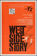 "Movie Posters:Academy Award Winners, West Side Story (United Artists, 1961). One Sheet (27"" X 41"")Academy Award Style. Musical.. ..."