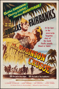 """Movie Posters:Comedy, Mr. Robinson Crusoe (Lippert Pictures, R-1953). One Sheet (27"""" X 41""""). Comedy.. ..."""
